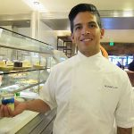 Executive pastry chef Michael Luna