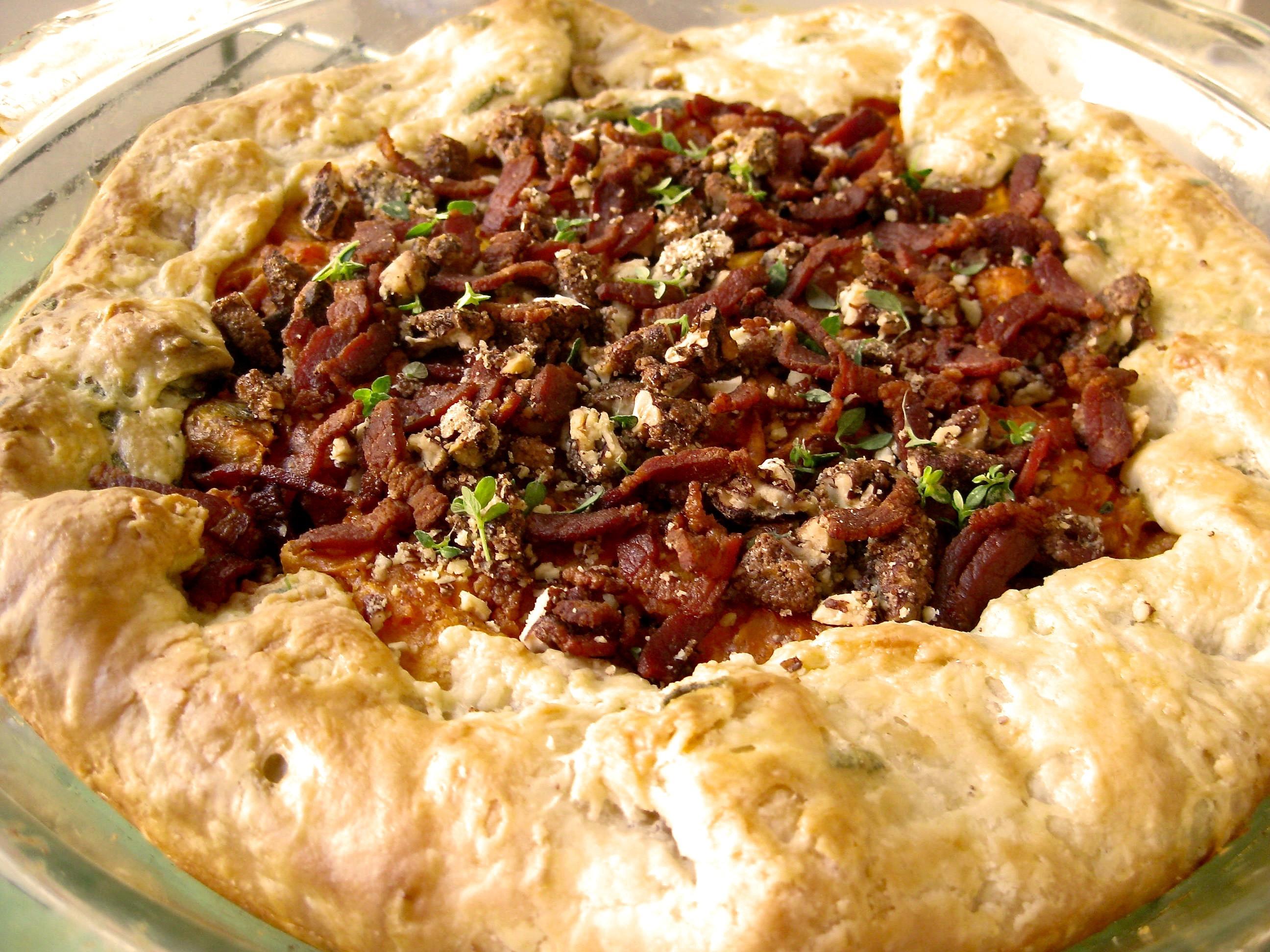 True Pie Stories: Jen Wang & Jake Mumm's Sweet Potato Pie With Bacon ...
