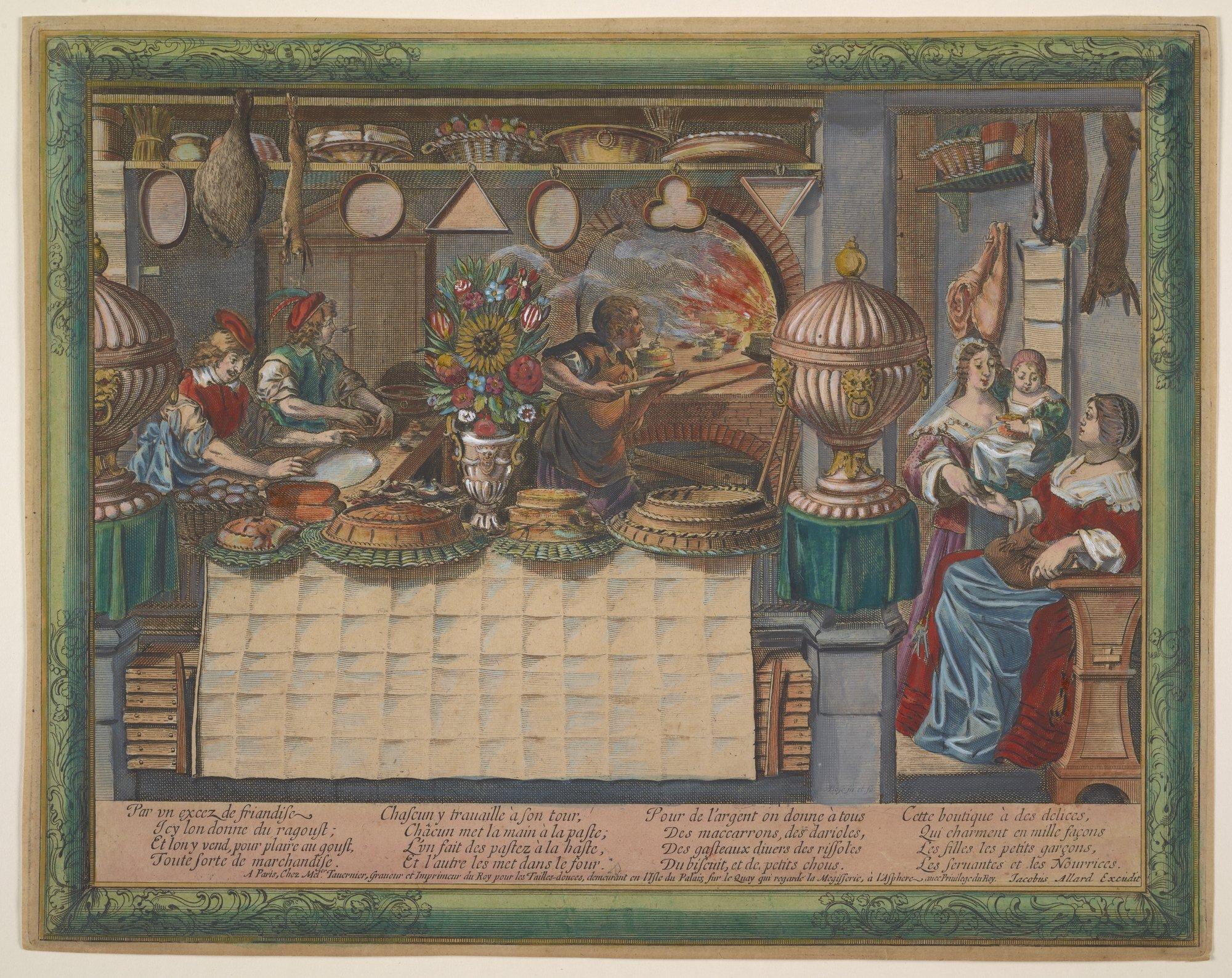 Edible Monument - Bosse, Abraham - Le pâtissier