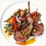 Elysian - Lamb, Market Vegetables & Dukkah (outline)