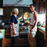 Nancy Singleton Hachisu in her kitchen. Japan_Hachisu_Farm_FW_Summer2014