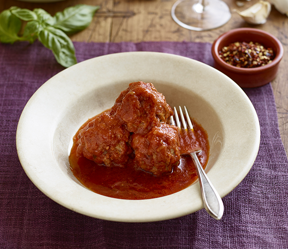 Lidia Bastianich Meat Balls by Diana DeLucia