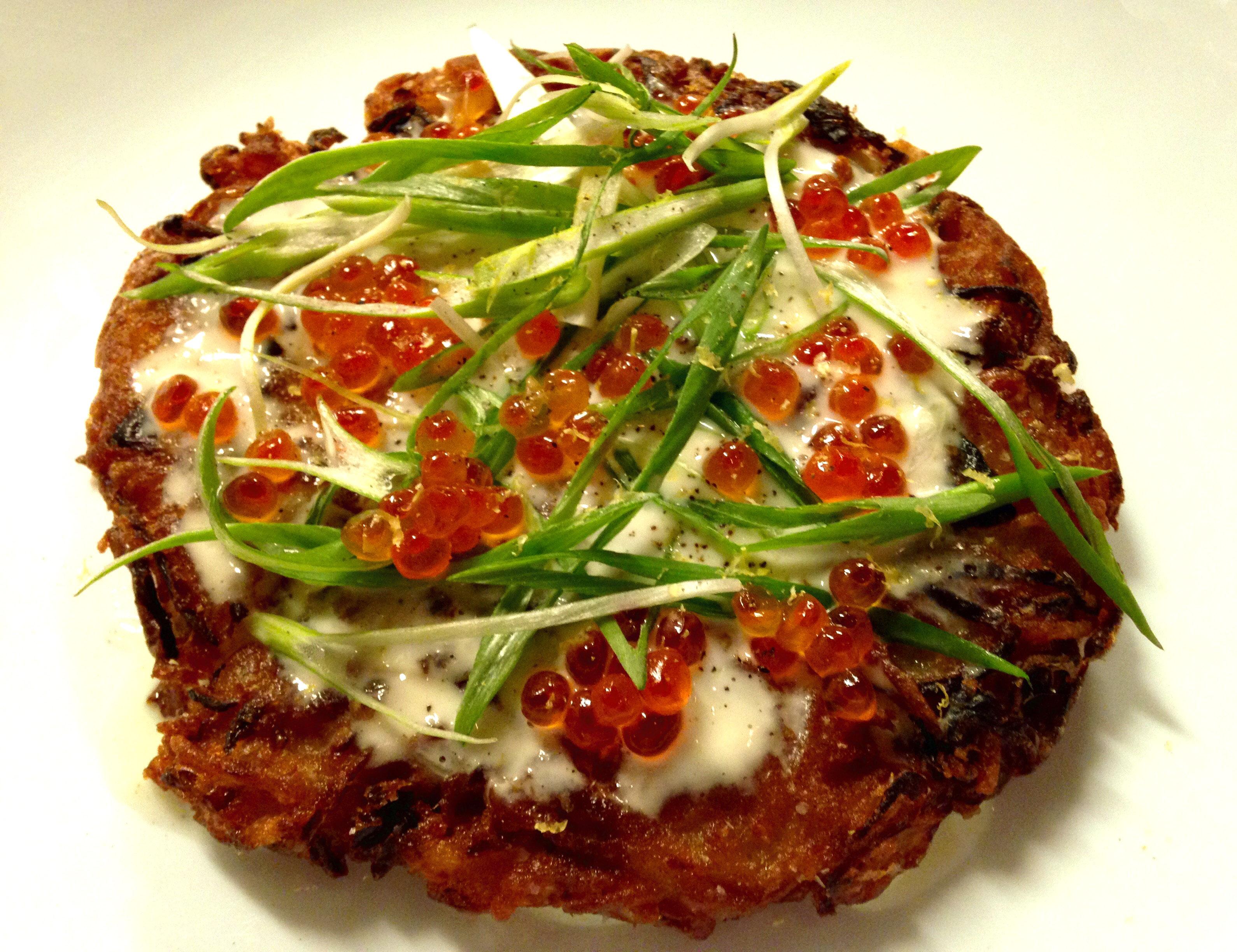 Okonomiyaki Latkes