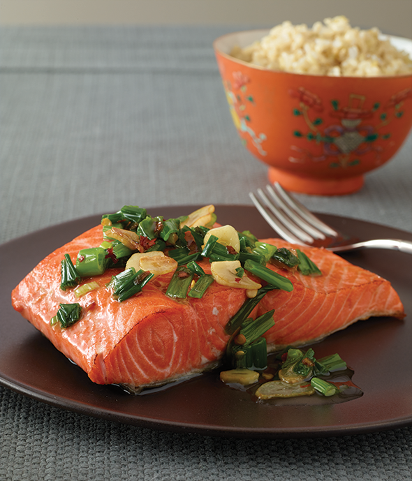 MasteringSauces - Salmon Chinese Scallion Sauce 590