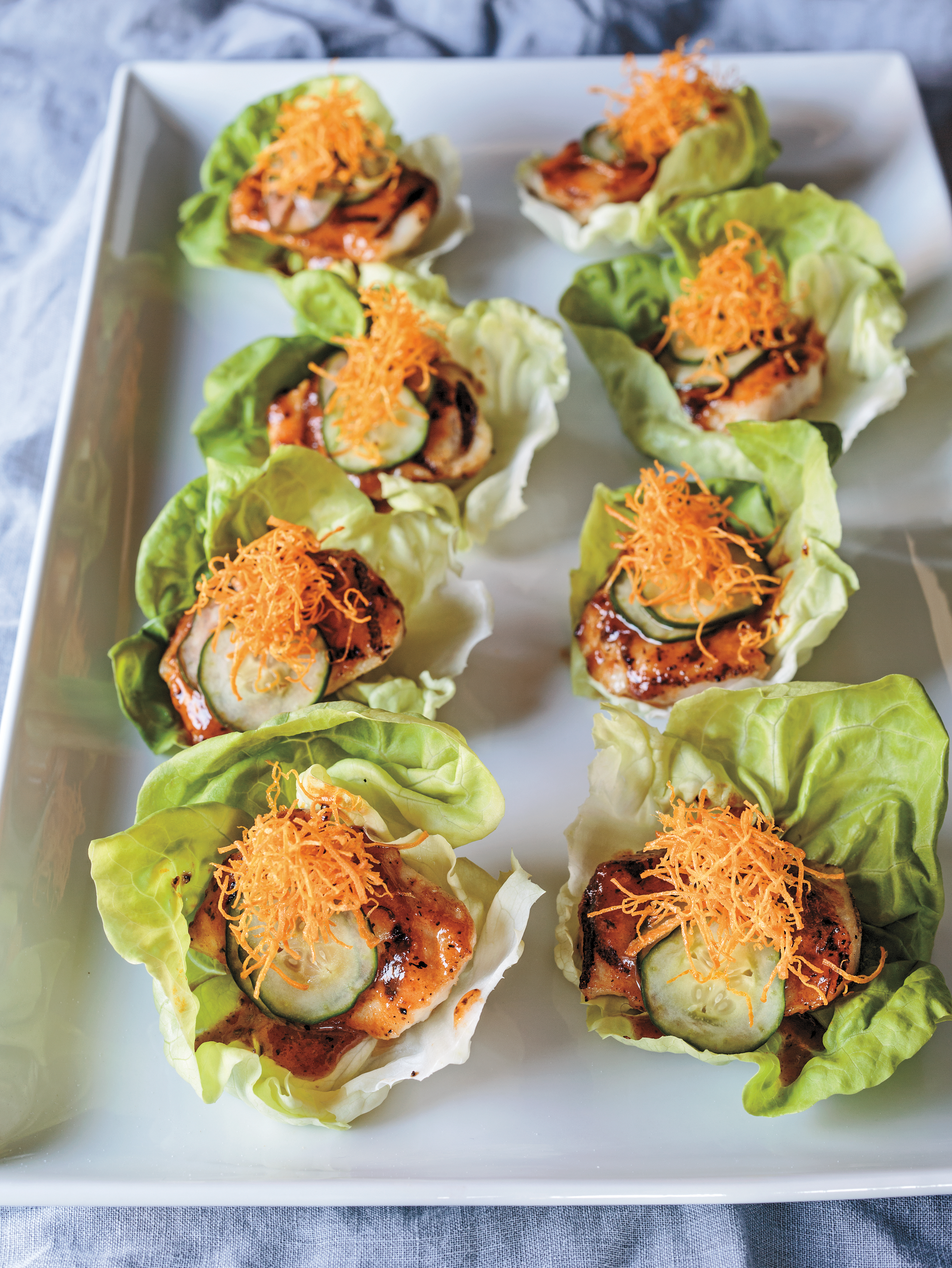 Zarate - Paiche Lettuce Cups cropped