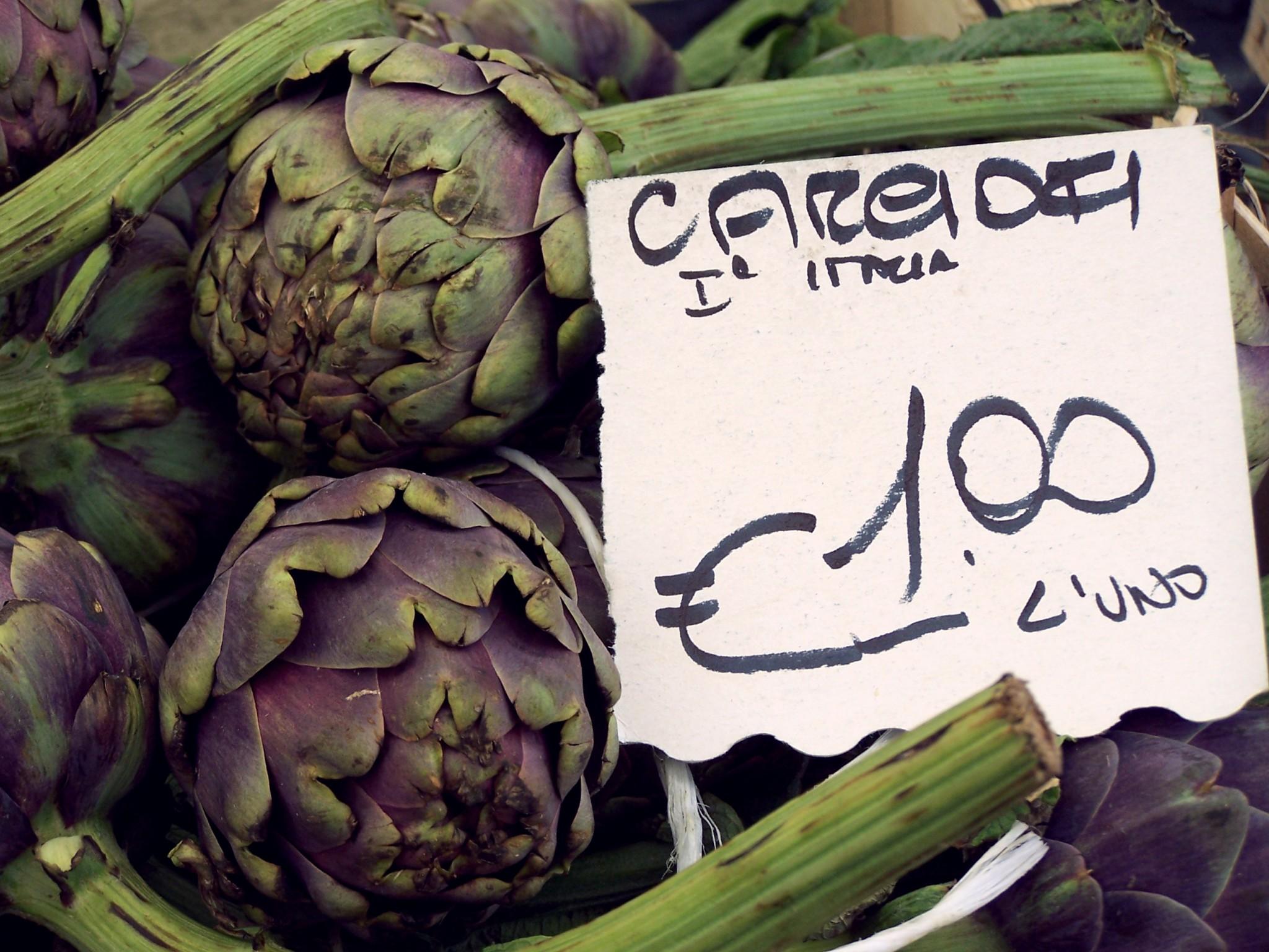 Carciofi Sign by blucolt