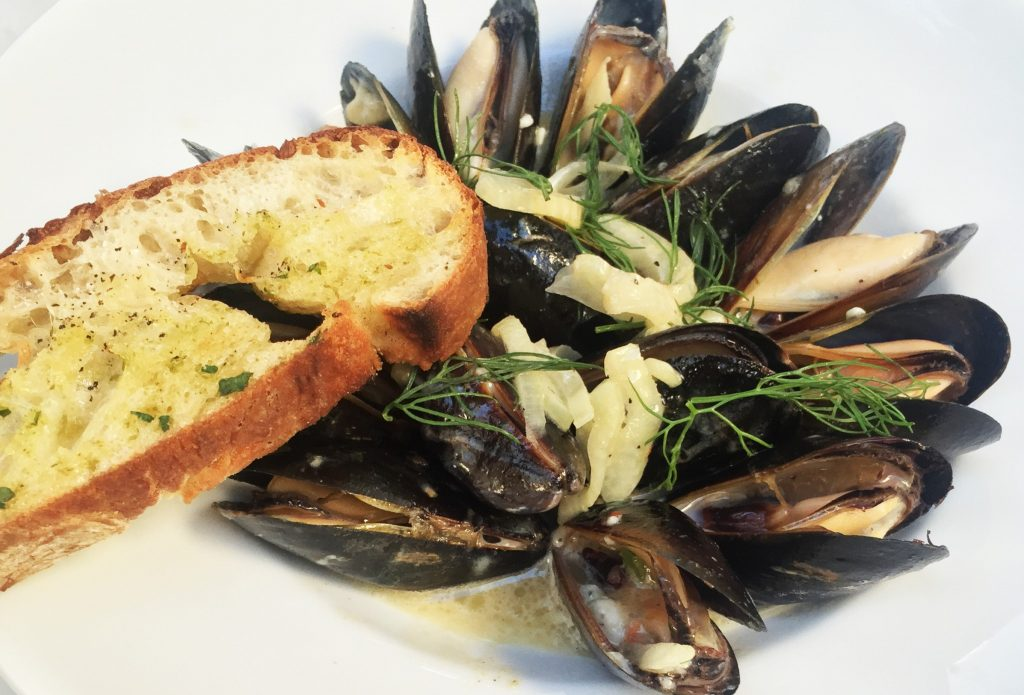Taste on Melrose P.E.I. Mussels