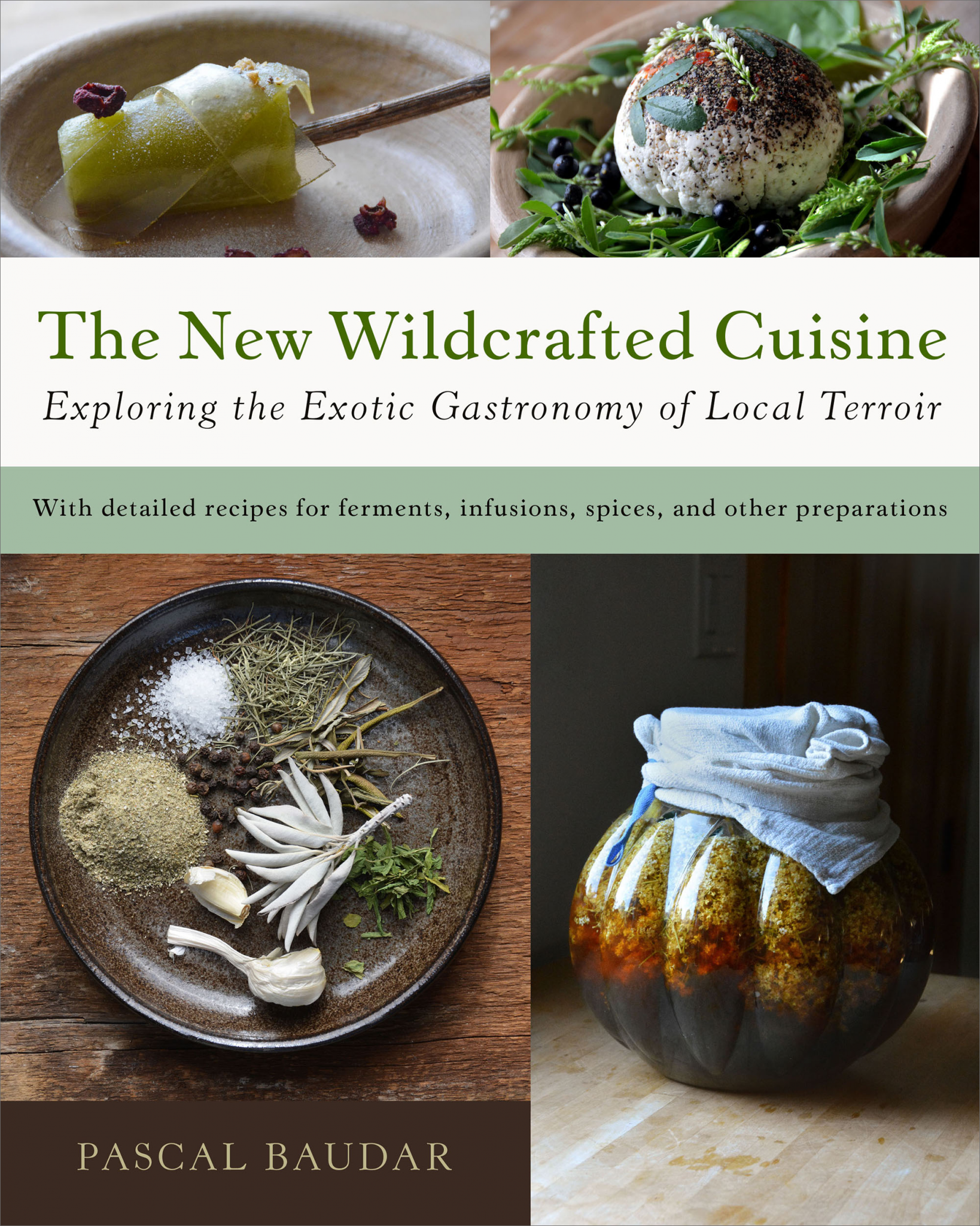 Pascal Baudard - NewWildcraftedCuisine Cover