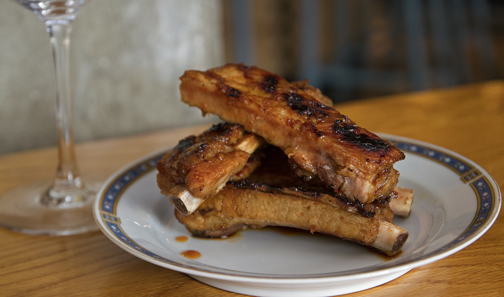 Simbal - Pork Ribs Grilled, Lemongrass, Chili