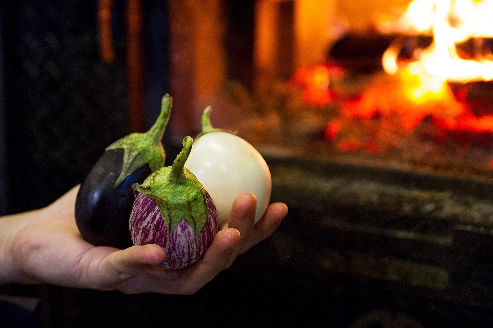 2000 Moruno - 3 Eggplants