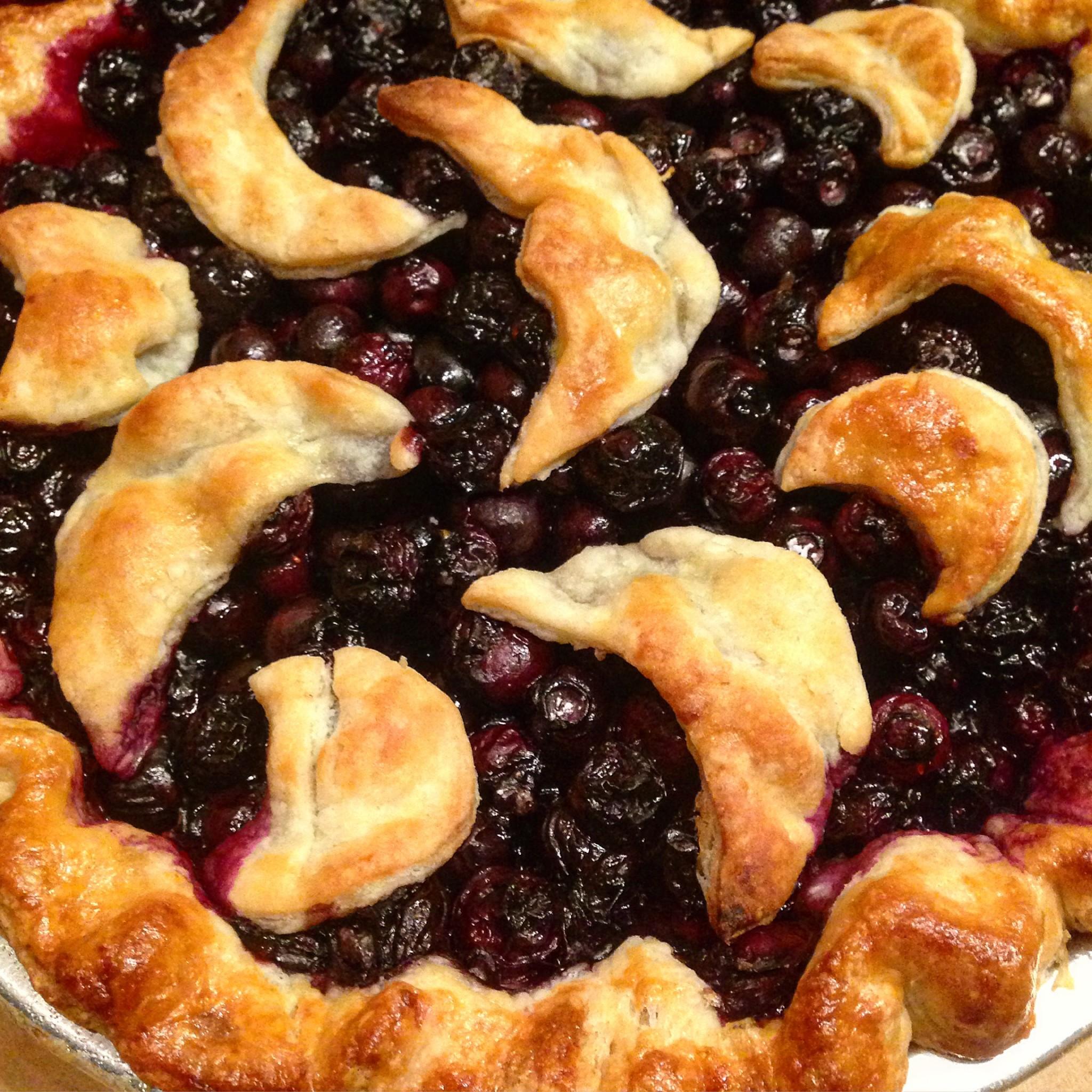 Evan's Blueberry Night Sky Pie 2