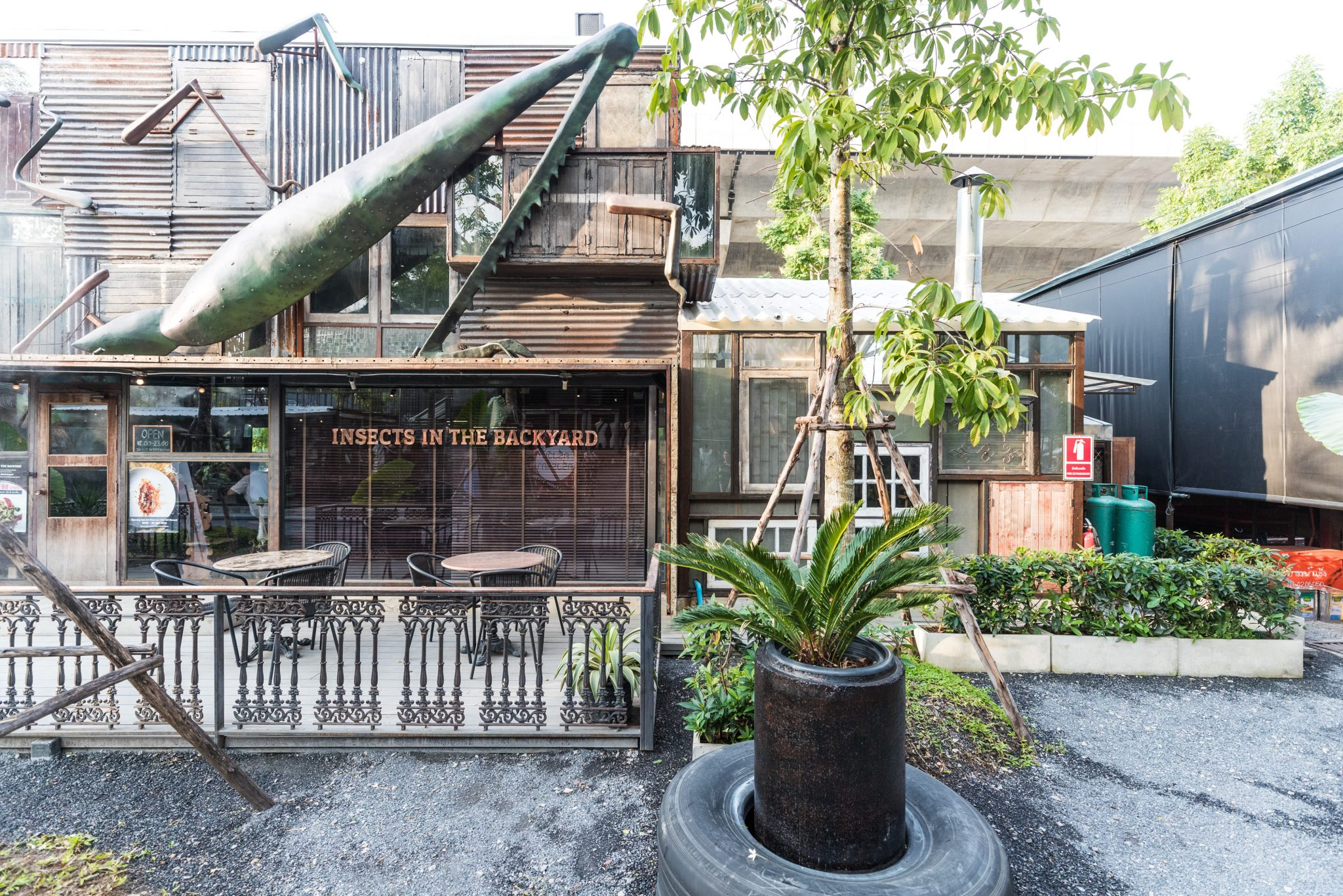 Insects in the Backyard opened in Bangkok's trendy Chang Chui market in July. Photo by Stan Lee/KCRW