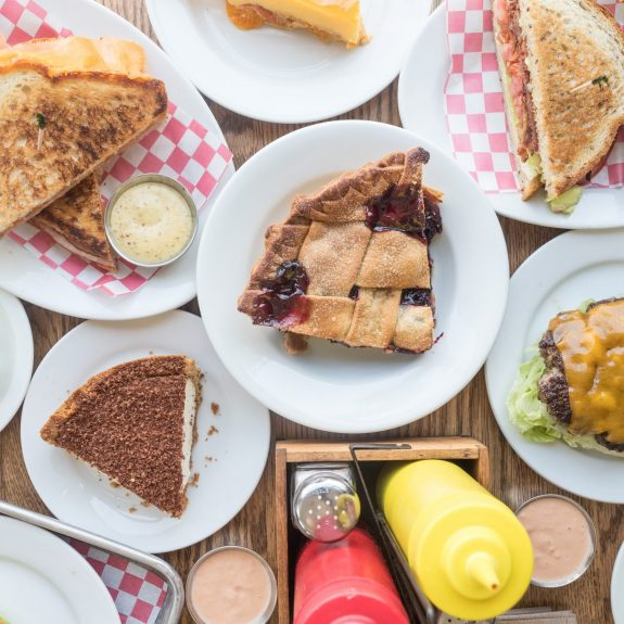 Pie at Cassell's Burgers