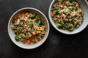 Creative and family friendly: Hot dog fried rice