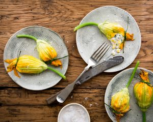 Stuff your squash blossoms (and friends) with this seasonal recipe