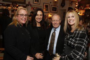 Board Member Monica Shilling, Madeleine Brand, Board Member Donald de Brier and Anne Litt