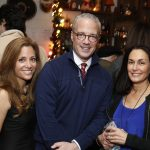 General Manager Jennifer Ferro, Board Chair Michael Fleming and Champion Susan Markowitz
