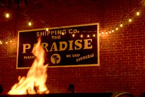 Hang out with KCRW friends and a free drink at the Paradise speakeasy!