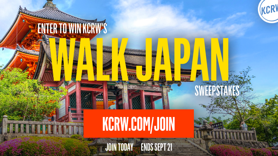 KCRW's Walk Japan Sweepstakes