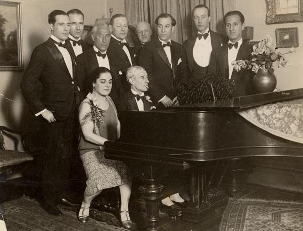 ravel 1928 w. Gershwin