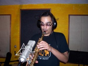 Zane Musa in Recording