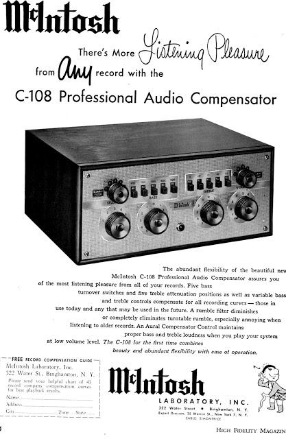McIntosh C-22 Pre-Amp