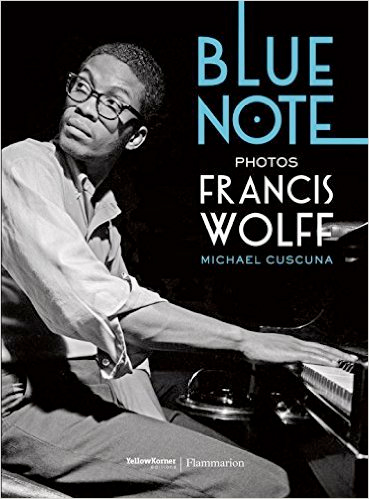 Blue Note book cover