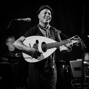 Dhafer Youssef performing at the Oslo Jazz Festival in 2015. Photo by Tore Saetre (CC BY-SA 4.0), via Flickr