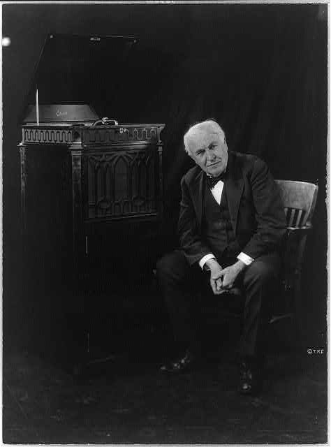 Thomas Edison's Favorite Invention: The Phonograph