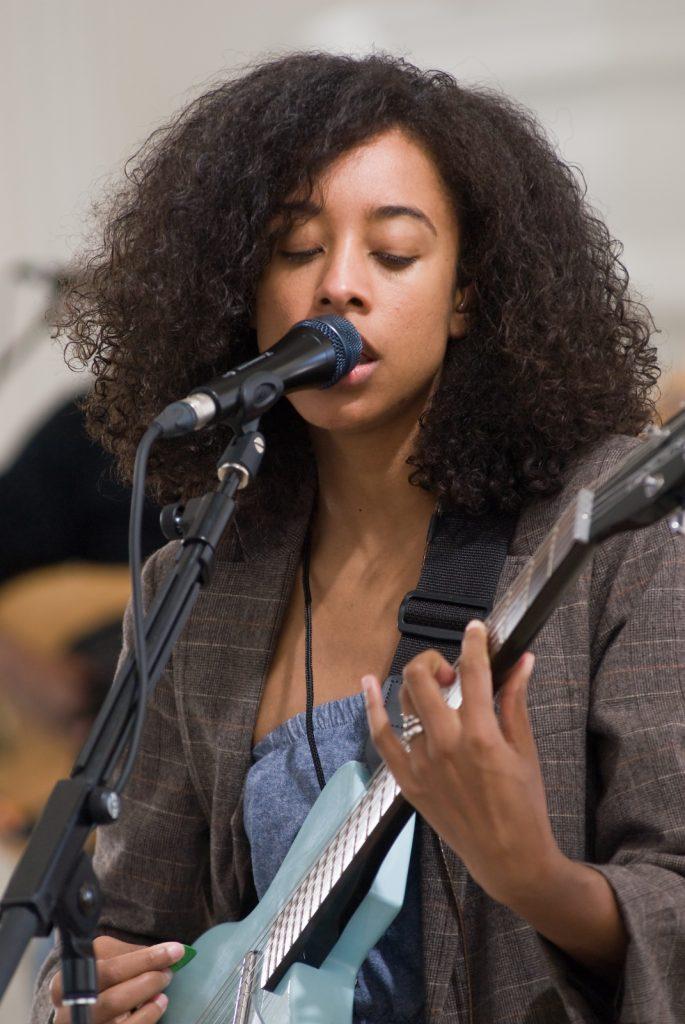 Corinne Bailey Rae during Soundcheck by Jonathan Kalan