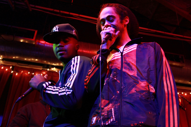 Nas and Damian Marley by Jeremiah Garcia