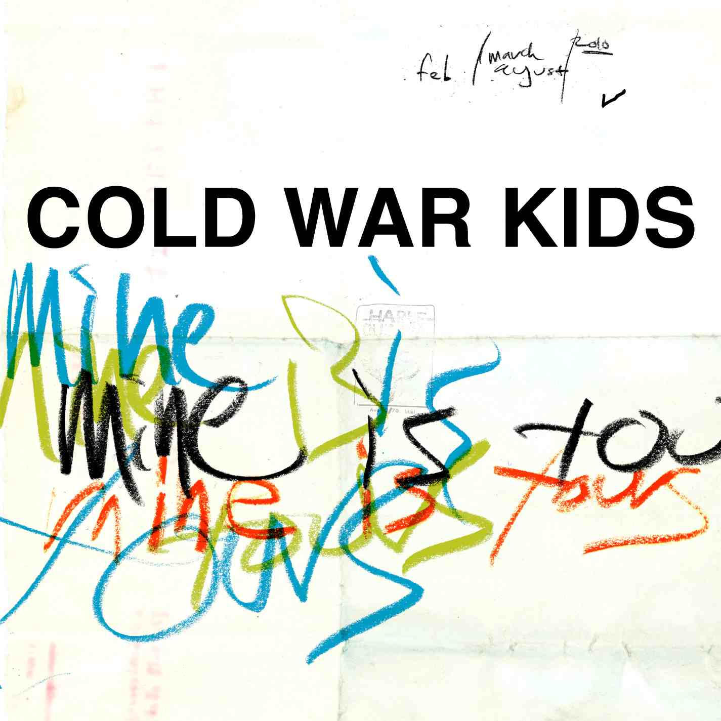 "Album Review: ""Mine is Yours"" – Cold War Kids"