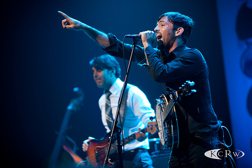 Avett Brothers at Nokia Theater by Marc D'Amour