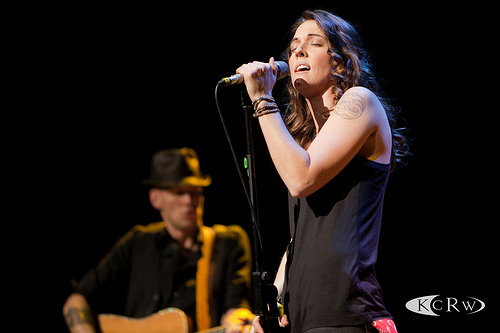 Brandi Carlile at Nokia Theatre by Marc D'Amour