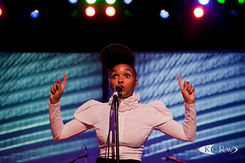 Janelle Monae at Hollywood Palladium by Marc D'Amour