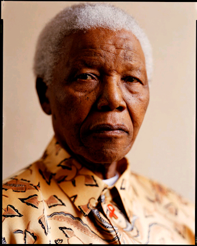 Nelson Mandela by Kwaku Alston
