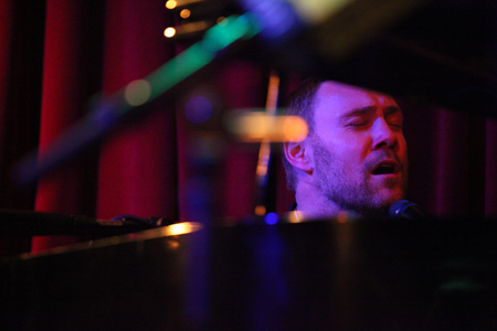 David Gray at the piano by Larry Hirshowitz