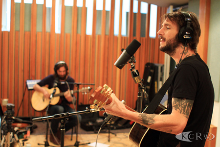 Band of Horses in KCRW's studio by Jeremiah Garcia