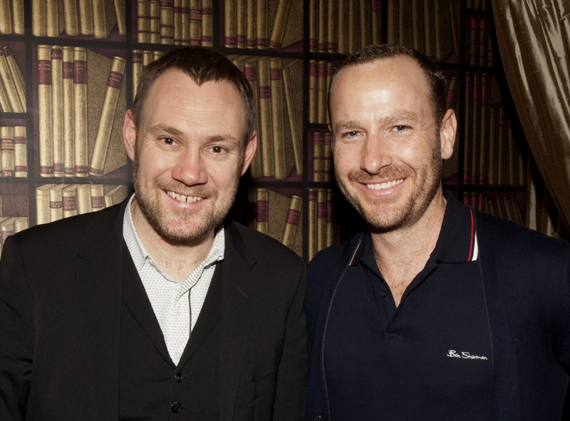 David Gray and Jason Bentley by Larry Hirshowitz