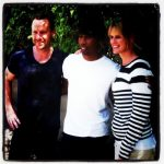 Jason and Anne with Raphael Saadiq