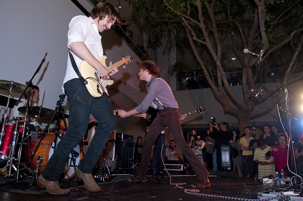 Saint Motel performing at the Hammer Museum by Andrew Herrold