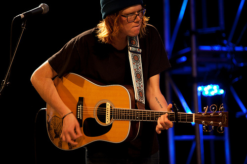 Brett Dennen at KCRW's SXSW Showcase by Marc D'Amour
