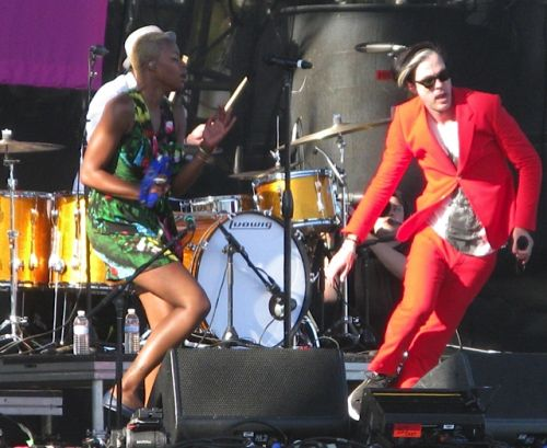 Fitz and the Tantrums -- local favorites played to a HUGE crowd