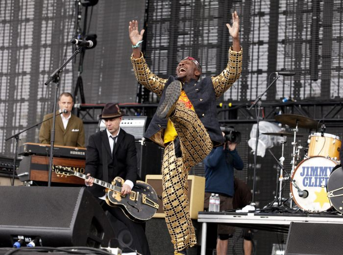 Jimmy Cliff and Tim Armstrong by Piper Ferguson