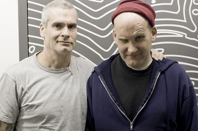 Photos Ian Mackaye Guest Dj Set On Kcrw With Henry