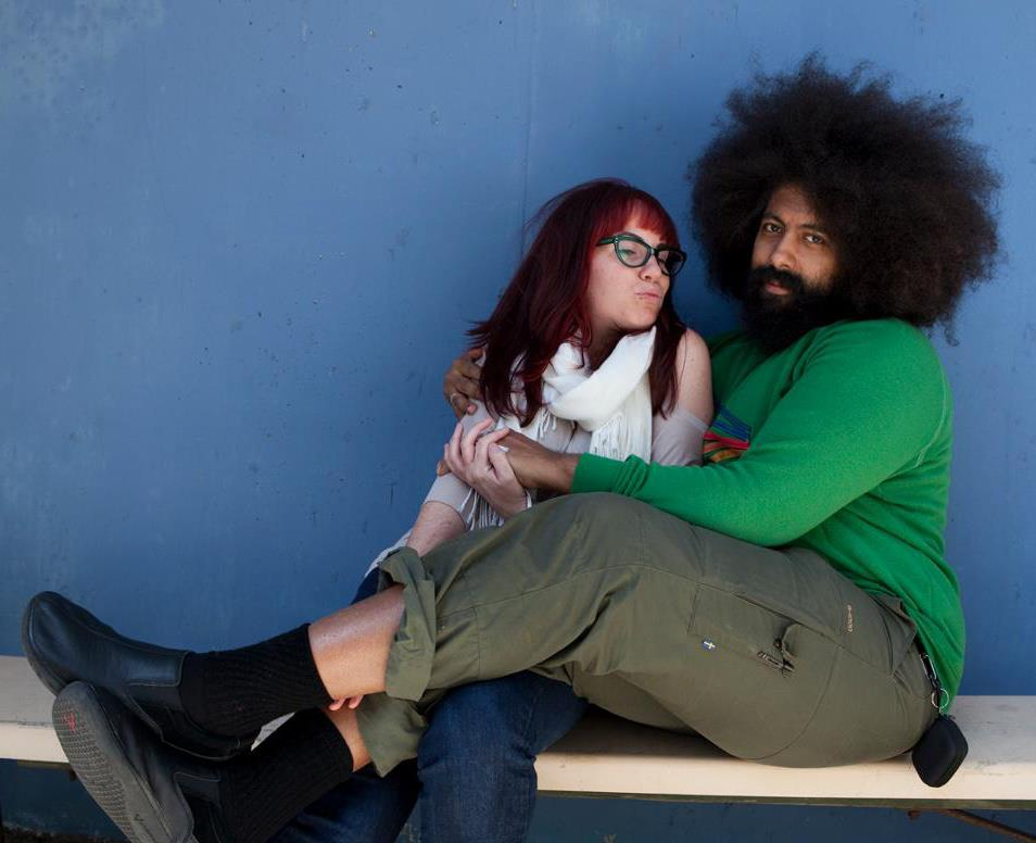 Monika Scott and Reggie Watts