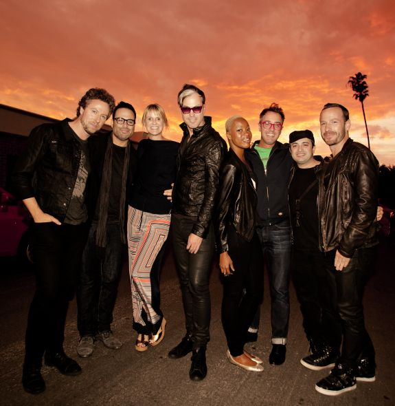 Fitz and the Tantrums with Anne Litt and Jason Bentley by Brian Lowe