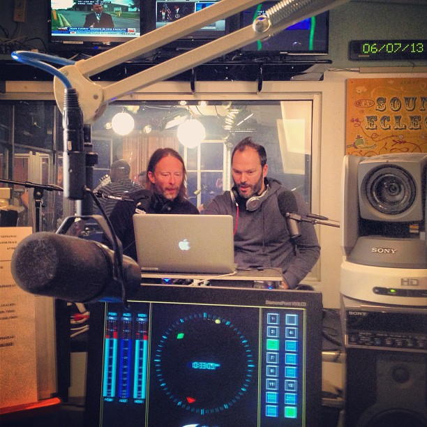 Atoms for Peace in KCRW's Master Control
