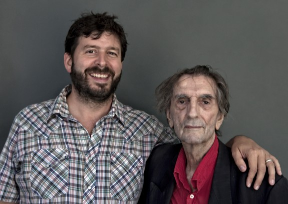 Harry Dean Stanton and Dan