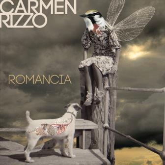 Carmen Rizzo Romancia album cover artist-Melissa Del Pinto